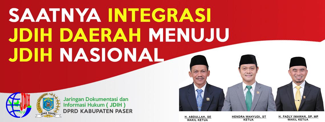 JDIH DPRD Kabupaten Paser